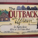 Outback Uptown Sign