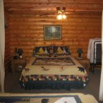 Log Lodge Bedroom